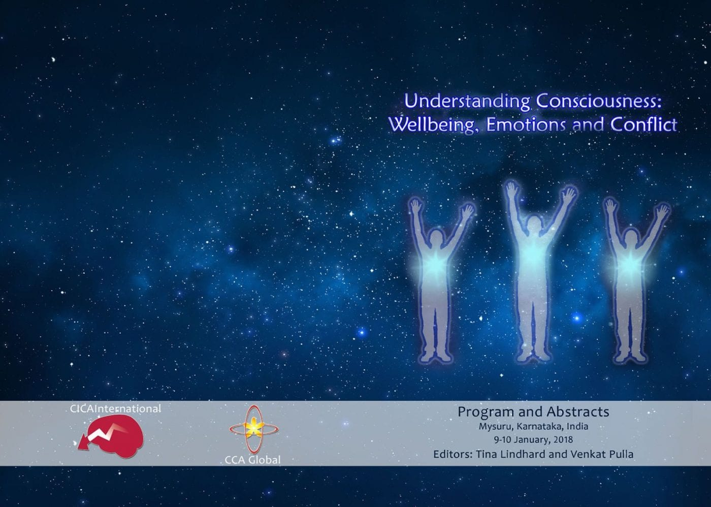XLIII CICA – Understanding consciousness: wellbeing, emotions and conflict – 9/10 2018 January – India